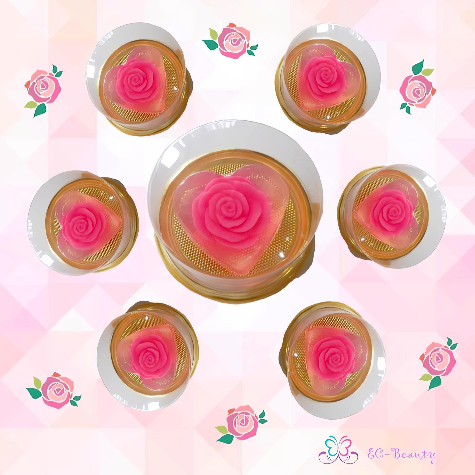 濃濃幸福 玫瑰花香 精油香皂