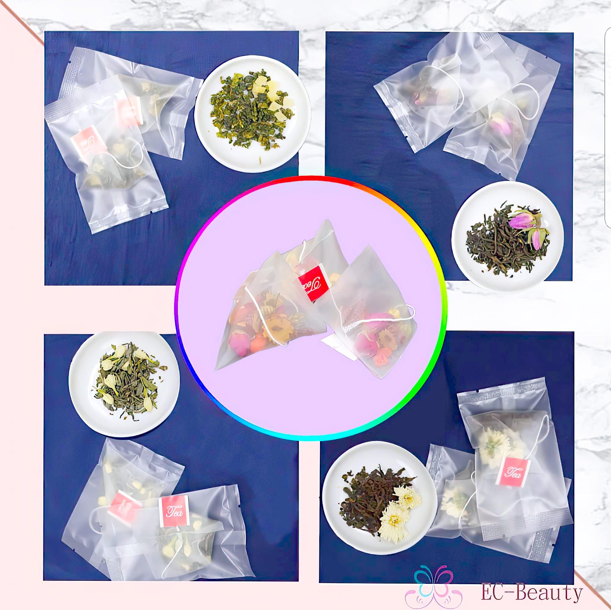 玫瑰四物茶,蜜桃烏龍,菊花普洱,桂花烏龍,玫瑰紅茶